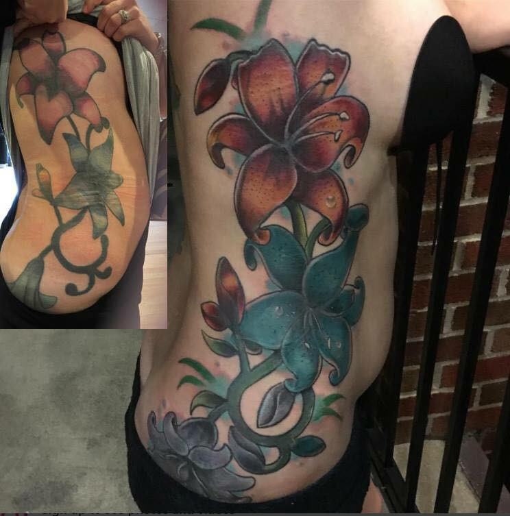 Rework (3 sessions in this picture)
