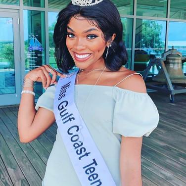 Miss Gulf Coast Teen Dariyel Johnson