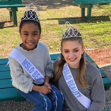 MSLO Beauty Olivia Eubanks and Little MSLO Beauty Madalyn Eubanks