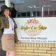 DYW 2022 Taylor Garretson at her Taylor'd To Shine Dress Review