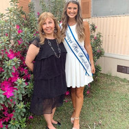 Miss Hospitality Local Director Mrs Jennifer McNeal and Miss Hospitality Mississippi McKay Lee Bray