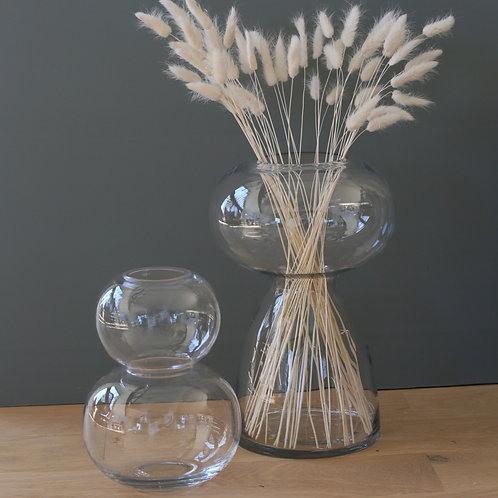 Vase transparent - 2 modèles
