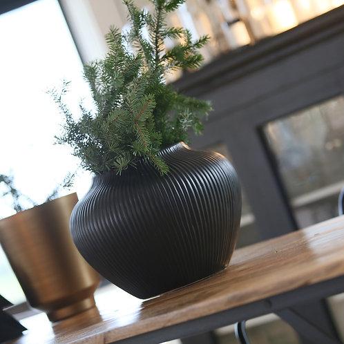 Grand vase - pot noir
