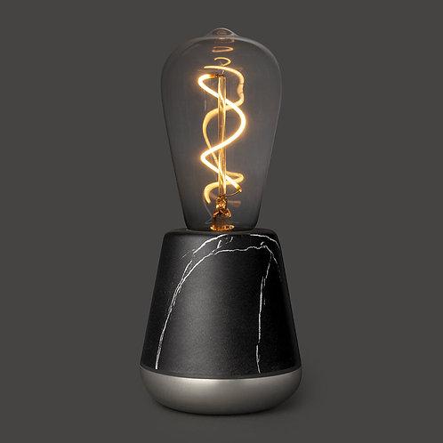 lampe autonome - marbre noir
