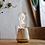 Thumbnail: lampe autonome - marbre blanc