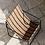 Thumbnail: Fauteuil lounge Stripe / Noir