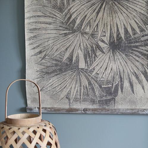 Tableau feuilles de palme