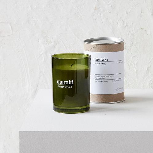 Bougie naturelle parfumée