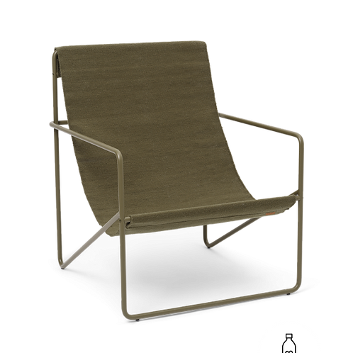 Fauteuil lounge Olive