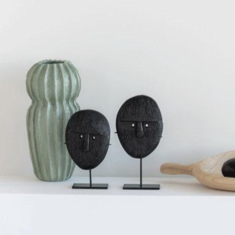 Statuette bois sur pied - 2 modèles
