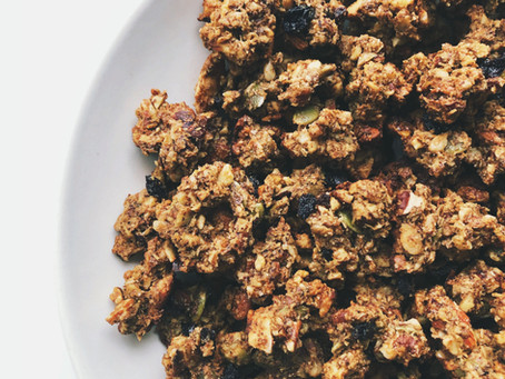 Crunchy Grain Free Granola