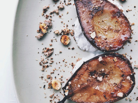 Roasted Cinnamon & Cardamom Pear
