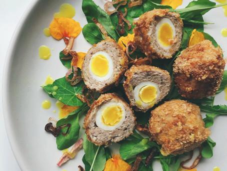 Scotch Quail Egg Salad