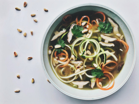 Zoodle broth