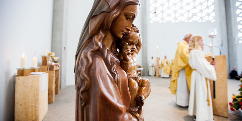 Heilige Messe zum Hochfest der Jungfrau Maria