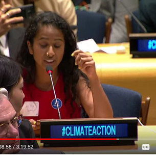 The Girl Who Started A Chant In The UN