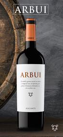 Etiqueta Vino Arbui