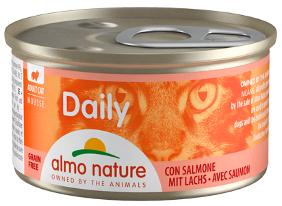 ALMO Daily Mousse Salmón 85Gr.