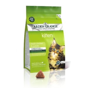 Arden Grange Cat Kitten Pollo 2Kgs