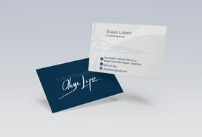 Tarjeta Olaya Fisioterapia