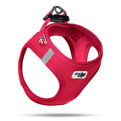 Curli Harness Air-Mesh Rojo