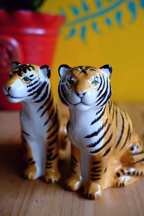 Tiger salt & pepper set