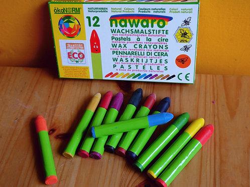 okoNORM Nawaro wax crayons