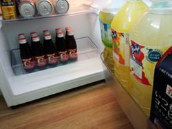 冷蔵庫の中はご自由に