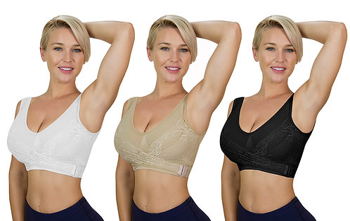COMFORTISSE® PUSH-UP BRA SET OF 3