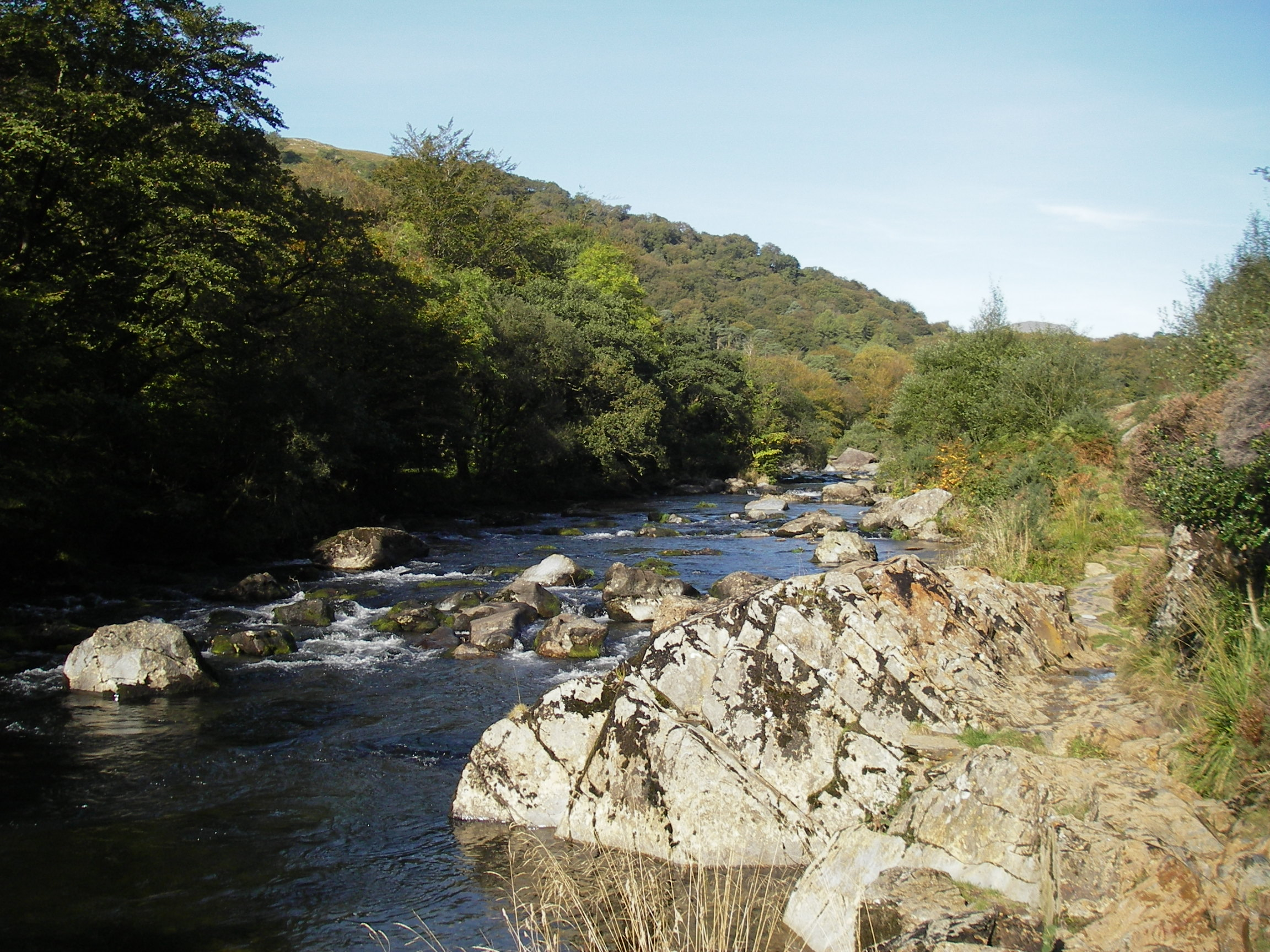 River Glaslyn in Aberglaslyn pass
