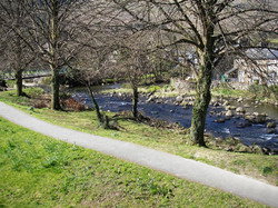River Glaslyn (view from Bedroom 1)