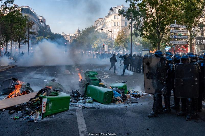 Zone de guerrila parisienne