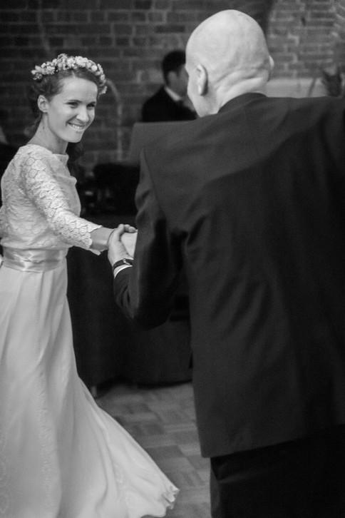 Première danse avec le père