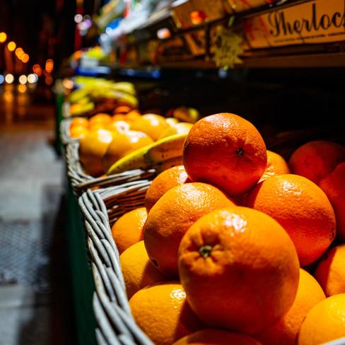 Diagonale oranges