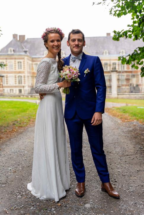 Photo officielle des mariés