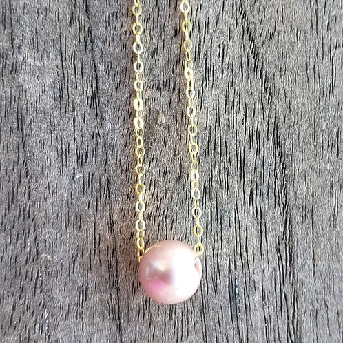 14k Gold Filled Pearl Necklace