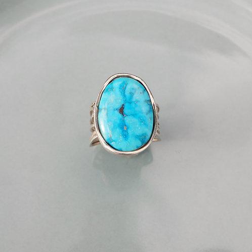 Arizona Turquoise Fan Ring