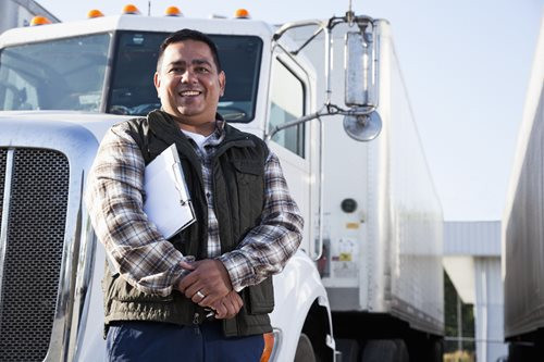 Trucker with costs to start a trucking company