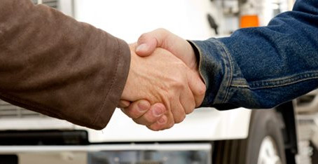 Signing a Lease Purchase-Trucking Agreement