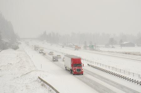 Truck that needs to winterize diesel fuel