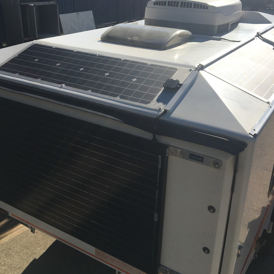 12 Volt Solar Setup Caravan