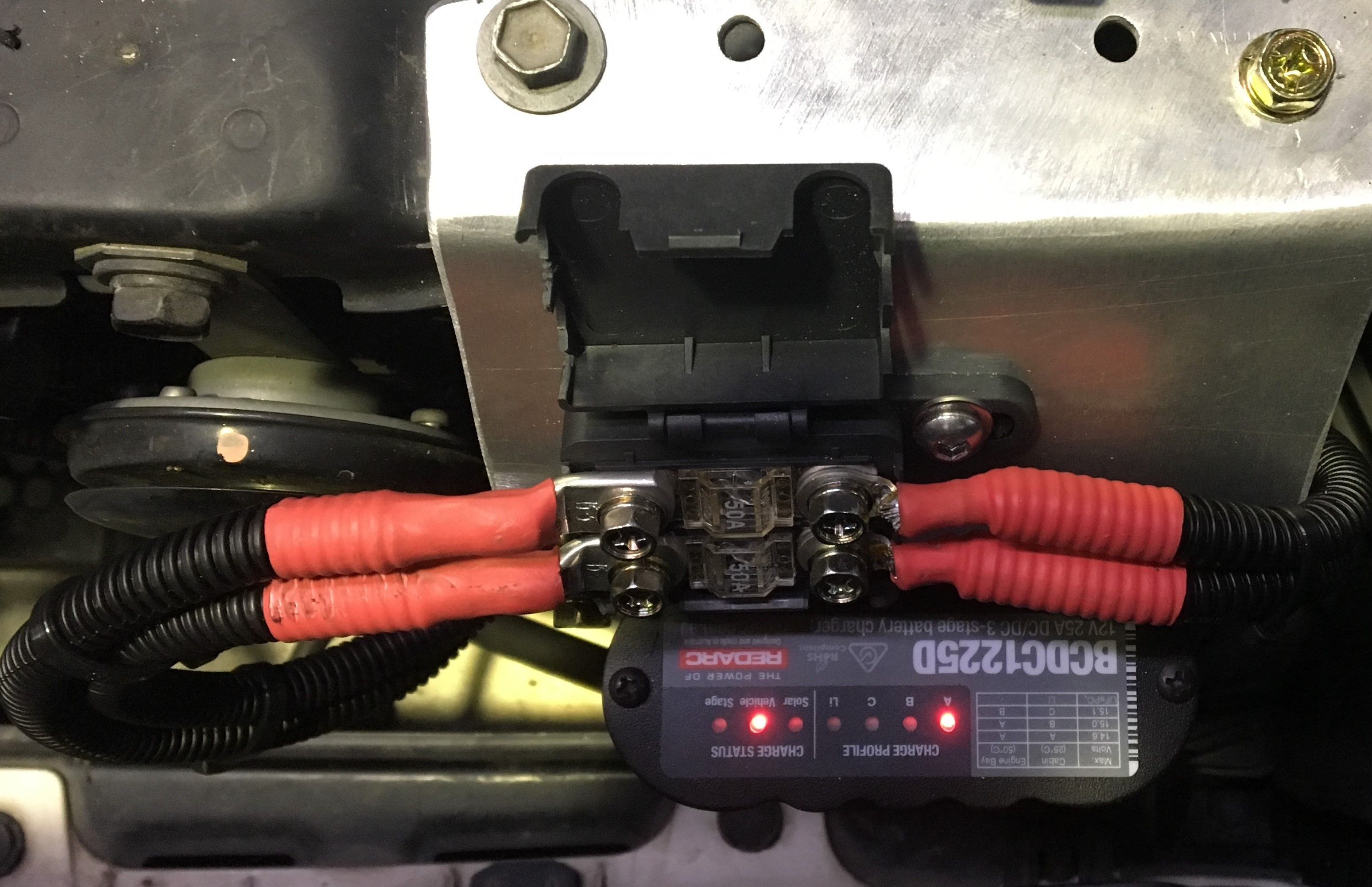 Dual Battery Wiring REDARC