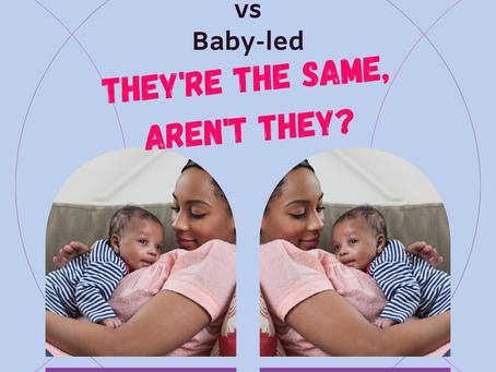 Laid Back Position vs Baby-led
