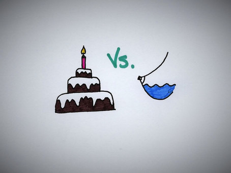 Cake vs Breastmilk