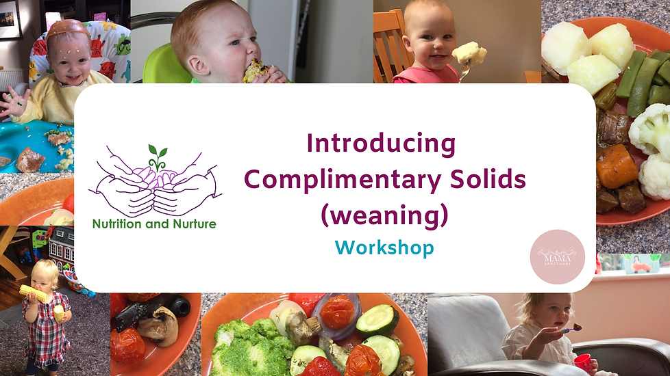 Introducing Complimentary Solids Worksho