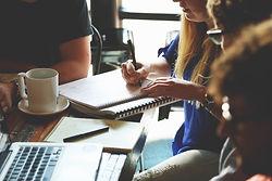 staff brainstorming