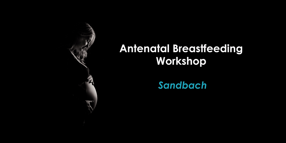 Antenatal Breastfeeding Workshop July