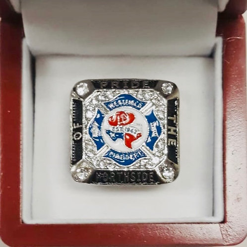 Westfield Fire Department Custom Ring
