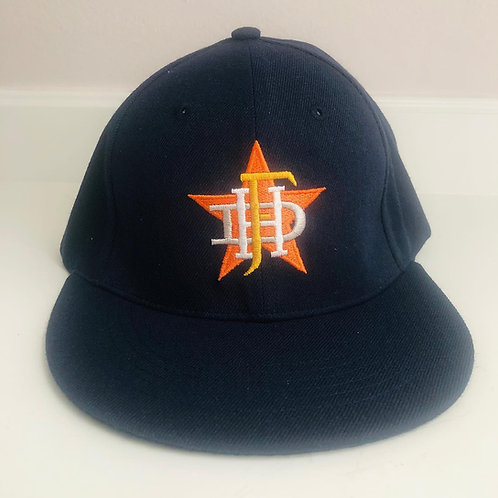 HFD Adult Flat-bill flexfit hat