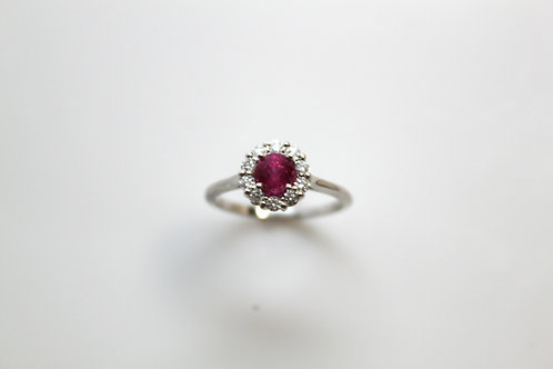 Ruby & Diamond FashionRing